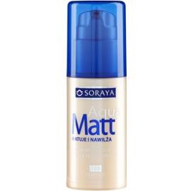 Soraya Aqua Matt maquillaje matificante con efecto humectante tono 103 Warm Beige 30 ml
