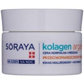 Soraya Collagen & Argan хидратиращ крем против бръчки с хиалуронова киселина  50 мл.