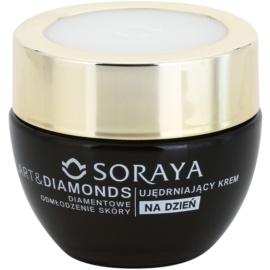 Soraya Art & Diamonds creme de dia rejuvenescedor com pó diamantino 50+  50 ml