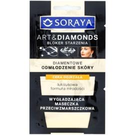 Soraya Art & Diamonds glättende Maske mit Antifalten-Effekt  2 x 5 ml