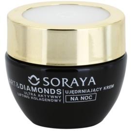 Soraya Art & Diamonds ujędrniający krem na noc z efektem liftingującym 40+  50 ml