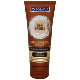 Soraya Beauty Bronze Zelfbruinende Gezichtscrème voor Donkere Huid   75 ml
