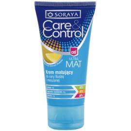 Soraya Care & Control mattierende Creme für fettige und Mischhaut  50 ml
