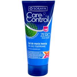 Soraya Care & Control antibakteriální čisticí gel proti akné  150 ml