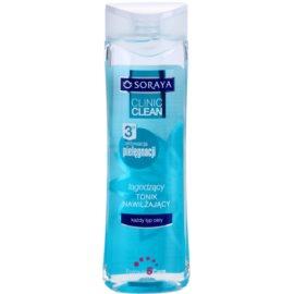 Soraya Clinic Clean tónico hidratante para calmar la piel  200 ml