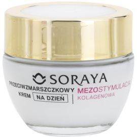 Soraya Collagen Mesostimulation Aktiv-Tagescreme gegen Falten 50+  50 ml