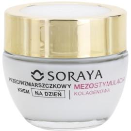 Soraya Collagen Mesostimulation aktywny krem na dzień przeciw zmarszczkom 50+  50 ml