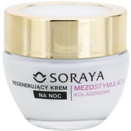 Soraya Collagen Mesostimulation regeneráló éjszakai krém a ráncok ellen 40+  50 ml