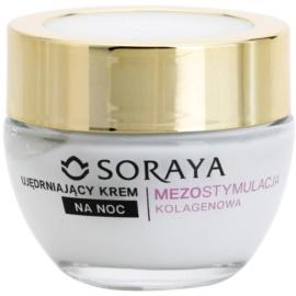 Soraya Collagen Mesostimulation стягащ нощен крем против бръчки 50+  50 мл.