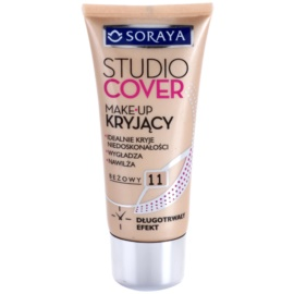 Soraya Studio Cover krycí make-up s vitamínem E odstín 11 Beige  30 ml