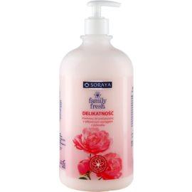 Soraya Family Fresh krémový sprchový gel s výtažkem z hedvábí  1000 ml