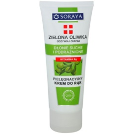 Soraya Green Olive nährende und schützende Creme für die Hände  75 ml