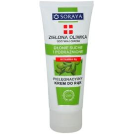 Soraya Green Olive výživný a ochranný krém na ruce  75 ml