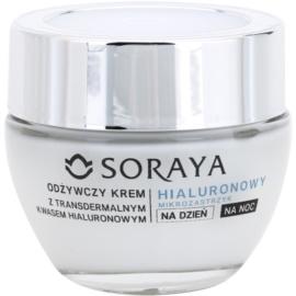 Soraya Hyaluronic Microinjection nährende Pflege für die Regeneration und Erneuerung der Haut 70+  50 ml