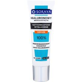 Soraya Hyaluronic Microinjection verfeinerndes Serum mit Sofort-Effekt  30 ml