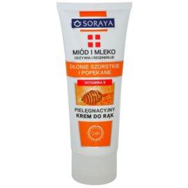 Soraya Honey and Milk výživný regenerační krém na ruce  75 ml