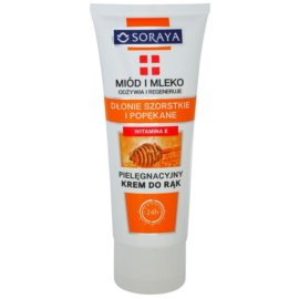 Soraya Honey and Milk nährende und regenerierende Creme für die Hände  75 ml