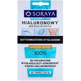 Soraya Hyaluronic Microinjection máscara intensiva com efeito lifting com ácido hialurônico com ácido hialurónico  2 x 5 ml
