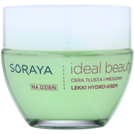 Soraya Ideal Beauty leichte feuchtigkeitsspendende Creme für fettige und Mischhaut  50 ml