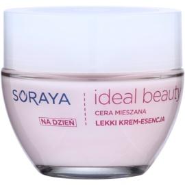 Soraya Ideal Beauty creme de dia luminoso para pele mista  50 ml