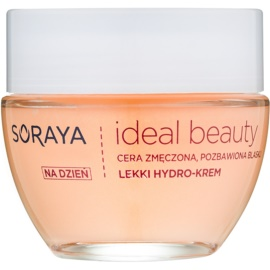 Soraya Ideal Beauty krem rozjaśniający na dzień o działaniu nawilżającym  50 ml