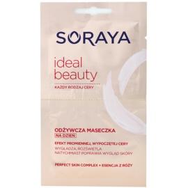 Soraya Ideal Beauty výživná maska pre žiarivý vzhľad pleti  2 x 5 ml