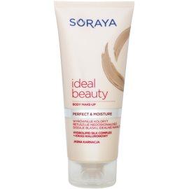 Soraya Ideal Beauty tělový make-up pro světlou pokožku (Hydrolipid Silk Complex and Hyaluronic Acid) 150 ml