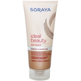 Soraya Ideal Beauty Body Foundation  voor Middel tot Donkere Huidskleur   150 ml