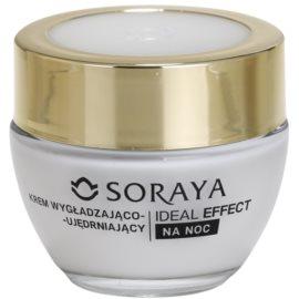 Soraya Ideal Effect fiatalító éjszakai krém a bőr feszességéért 40+  50 ml