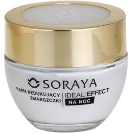 Soraya Ideal Effect przeciwzmarszczkowy krem na noc do odmładzania skóry 50+  50 ml