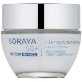 Soraya Intensive Repair erneuernde Creme zum Festigen der Gesichtshaut 50+  50 ml