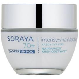 Soraya Intensive Repair erneuernde Creme zum Nähren der Gesichtshaut 70+  50 ml