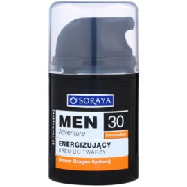 Soraya MEN Adventure 30+ crema energizante para hombre  50 ml