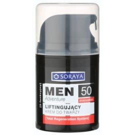 Soraya MEN Adventure 50+ лифтинг крем за мъже  50 мл.