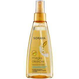 Soraya Magic Oils Body Mist cu efect de hidratare  150 ml