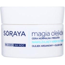 Soraya Magic Oils crema hidratante para pieles normales y mixtas  50 ml