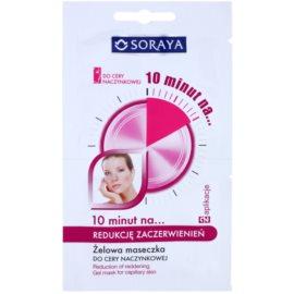 Soraya 10 Minutes máscara em gel para reduzir a vermelhidão  2 x 5 ml