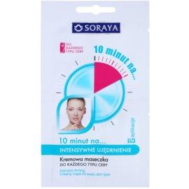 Soraya 10 Minutes masca hidratanta pentru fermitatea pielii  2 x 5 ml
