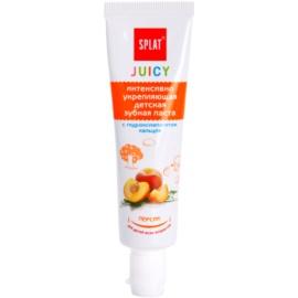 Splat Juicy Peach zubní pasta pro děti a velmi citlivé zuby dospělých  35 ml