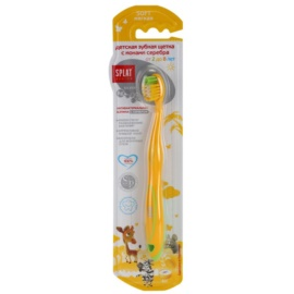 Splat Junior South escova de dentes antibacteriana com íons de prata soft