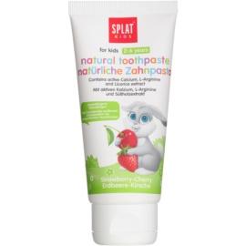 Splat Kids natürliche Zahnpasta für Kinder Geschmack Strawberry & Cherry 50 ml
