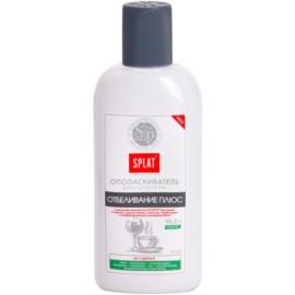 Splat Professional White Plus elixir bocal para um branqueamento suave e proteção do esmalte  275 ml