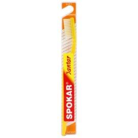 Spokar Jantar zubní kartáček soft Yellow