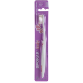 Spokar Lady antibakterielle Zahnbürste weich