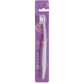 Spokar Lady антибактеріальна зубна щітка м'яка
