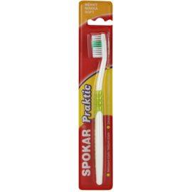 Spokar Praktic zubní kartáček soft Green
