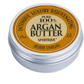 Sportique Wellness Argan tiszta argánolajos vaj  75 ml