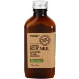 Sportique Wellness Cucumber leite corporal hidratante  200 ml