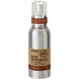 Sportique Wellness Jasmin prírodný dezodorant v spreji  100 ml
