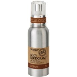 Sportique Wellness Jasmin natürliches Deodorant im Spray  100 ml